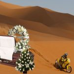 Controversia por funeraria que se promociona como «la oficial del rally Dakar»