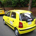 Atención: Bogotano para taxi y lo lleva sin antes preguntar a dónde va