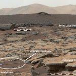 Volador cae en Marte