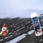 Con Navinieve e icopor reemplazarán nieve derretida en Parque de los nevados