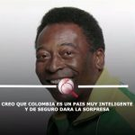 Aparece grabación en la que Pelé da a Colombia como favorita en las pruebas Pisa