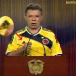 Por alocución de Santos con camiseta de selección ONU sancionará a Colombia
