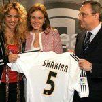 Shakira se declara hincha del «Real de James»  y pone a tambalear su matrimonio