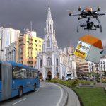 Fracasa primer día de domicilios con drones de Cali Mío