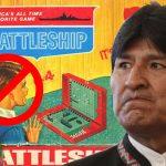 Evo Morales veta al juego «Batalla naval» en su país