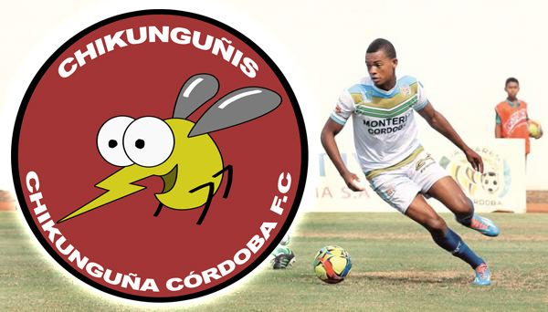 Chikunguñis es la nueva mascota del onceno cordobés.