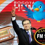 Sin saber que era alcalde de Bogotá, emisora paraguaya elige a Petro tuitero del año