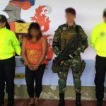 Ejército captura a la guerrillera más fea del Tolima