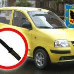 Cuchillos de taxistas no podrán superar los 5 cm