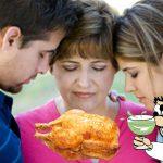 Padre llega a casa sin pollo después de una noche de excesos