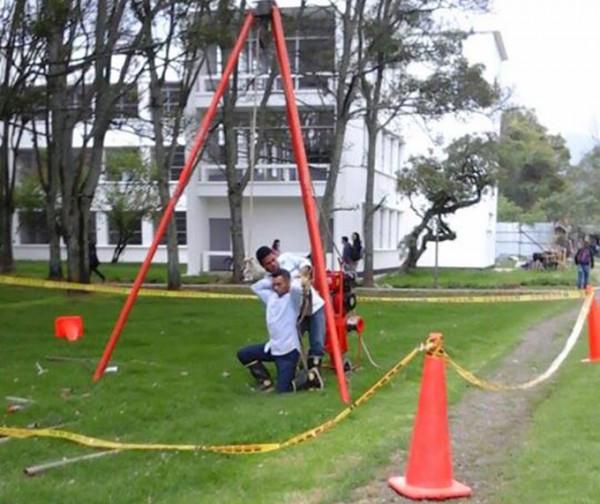 Las labores de exploración comenzaron en enero y se prolongarán hasta junio. Foto: Daniela Garzón