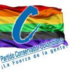 Partido Conservador pide sacar el color azul de la bandera gay