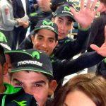 Ciclistas de Movistar saltan en cama de Valverde y no invitan a Nairo