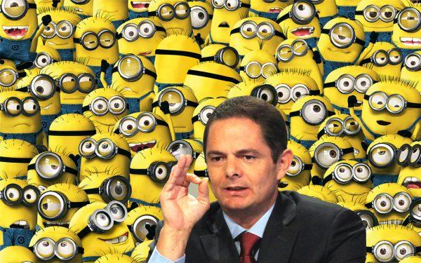 """El vicepresidente usará a los populares """"minions"""" para terminar las obras antes de su renuncia."""