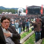 Venden boleta platino para Rock al parque a Pacho Santos