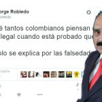 Uldarico Peña se equivoca y tuitea desde el celular de Jorge Robledo