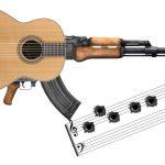 Lanzan La Guitarrapeta, la guitarra que dispara