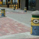 Bolardos de Bogotá serán decorados como minions