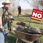 """Quienes voten """"No"""" en plebiscito se irán a combatir al monte"""