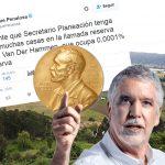 Peñalosa nominado a premio Nobel de física por su teoría de la irrelevancia