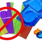 Con prohibición de bolsas pequeñas se sabrá quién compra condones.