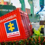 Colombia exportó hoy su primer container de falsos testigos