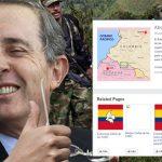 Sorpresivo «Like» de Uribe a fan page de frente rebelde de las Farc