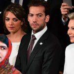 Durante Nobel, Tutina conoce a Malala Yousafzai y le dice: «ahora no monita, al regreso».
