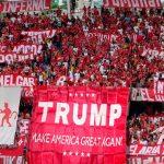 Barra Barón rojo del América alista homenaje a Donald Trump