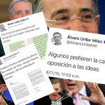 Senador Uribe arremete contra sí mismo en Twitter