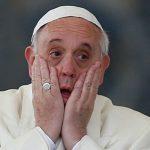 Se podría aplazar visita de Francisco: no ha podido ser creado como proveedor