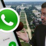 Pacho Santos obligado a mantener activada la ubicación en tiempo real en su Whatsapp