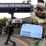 Multan a guardia venezolano por correr mientras cruzaba la frontera
