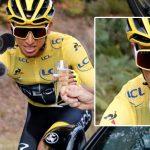 Por la copa de champaña, Egan Bernal ya registra fotomulta en Colombia