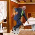 Peñalosa pide que le retiren 200 de las 543 canecas que metió en su casa