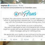 Onlyfans afirmó que su compañía no tiene nada que ver con Almacenes Only